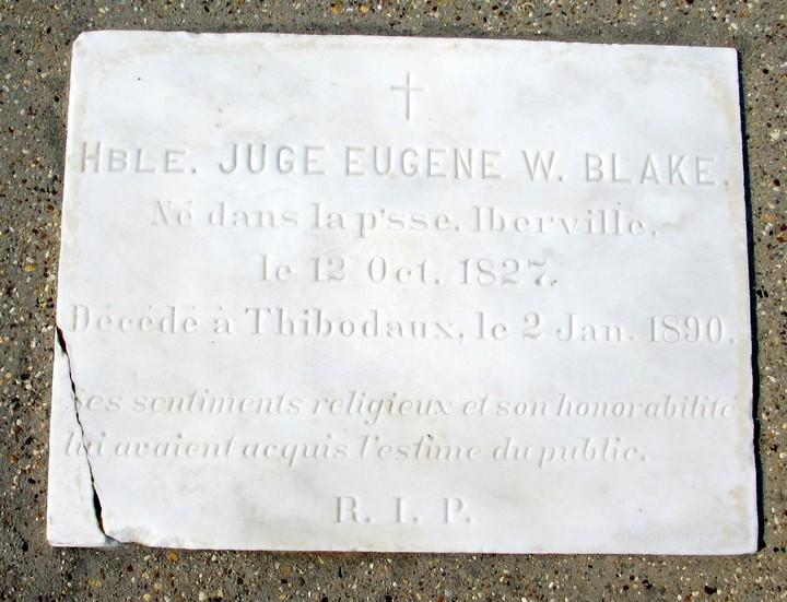 Hble Juge Eugene W Blake
